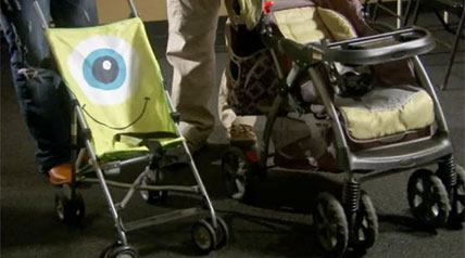 How to select and set up a baby strollers for self defense making any kind of weapon system easy accessible.
