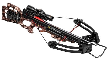 The Shadow Ultra-Lite's primary innovation is a new combination lightweight 19.6-inch carbon-injected polymer barrel and 5.5-ounce trigger housing, which dramatically reduces total bow weight to 6.4-pounds.