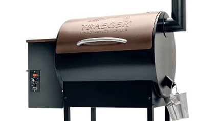 Cook up all your game with the Traeger's Lil' Tex Pro and its auger-fed burner.