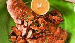 Barbecued Trout Almandine (Recipe)