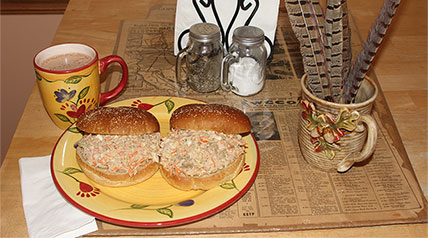 The Memorial Day holiday weekend is an annual chance for families to kick off the summer season while enjoying some good eating, all while remembering those who have sacrificed so much to make possible our freedom; consider adding a twist to the holiday menu by preparing a World War II canteen-inspired sandwich featuring an American Heartland upland bird.