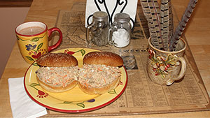 Upland-bird Sandwich Recipe Celebrates Pheasants and Troops