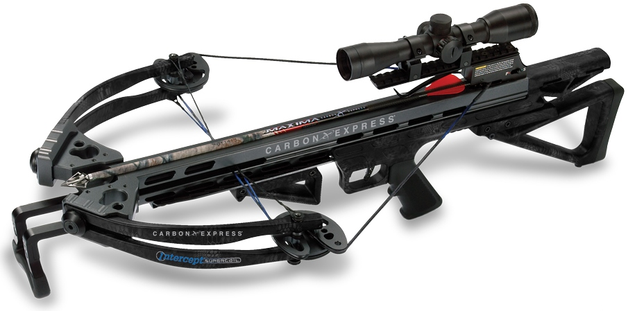 AR-Style Crossbow: Carbon Express SuperCoil