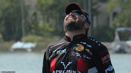 Greg Hackney can appreciate the irony of it all. The Gonzalez, Louisiana, angler knows that one of the big lures of Jack Link's Major League Fishing is that the brand new format is full of the unexpected.