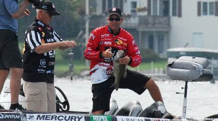 It was a virtuoso performance. It being the on-the-water smallmouth bass catching beat-down that Kevin VanDam threw out in August 2013 on Grand Lake as the Jack Link's MLF 2014 General Tire Summit Cup wound down in Alpena, Mich.