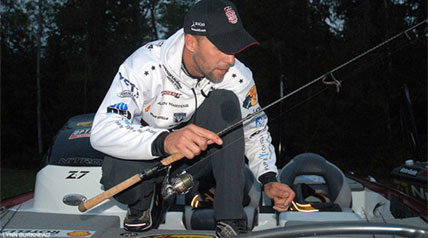 After a very long year of competing on the Bassmaster Elite Series tournament trail, Aaron Martens is a bit on the tired side and ready to return to his home and his family back in Alabama.