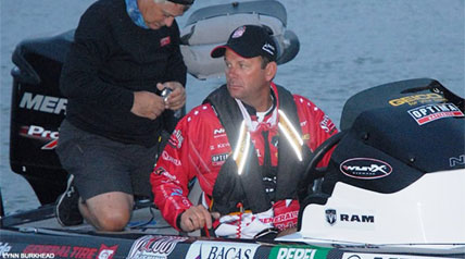 He's done it all. Or more accurately, he's nearly done it all. He being Kevin VanDam, arguably the greatest professional bass fisherman of all time. And the all being the winning of virtually every major bass fishing title that the sport has to offer.