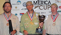 America Cup International Fly Fishing Tournament 2011 Results