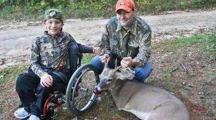 There aren't many instances when a little brother can claim victory over his big brother, but that's what Gabriel Mangus did on the first deer hunt of the season. And he relished it.