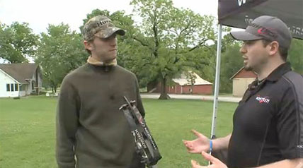 Sam Coalson from Bowtech shows a new archer the simple basics of bow hunting, only at OutdoorChannel.com.