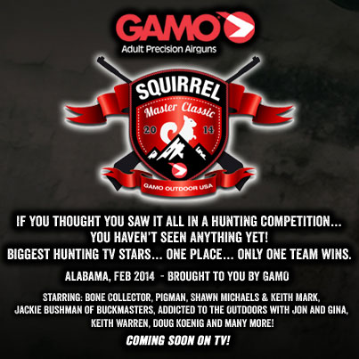 Gamo Outdoors USA Presents the First Annual 'Squirrel Master Classic' Hunting Event