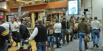 The 2014 Archery Trade Association show at the new Music City Center Nashville, Tennessee.