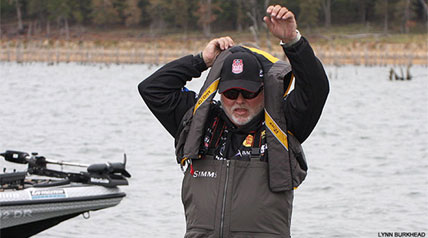 If you were asked to envision an injured professional sports competitor – any injured competitor – a pro angler probably wouldn't come to mind. But as any professional angler would tell you, competitive fishing offers its share of hazards.