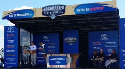 Gov. Andrew M. Cuomo and B.A.S.S. announced the Bassmaster Elite Series tournament will return to New York state in 2014. Under a partnership with B.A.S.S., the event will include the