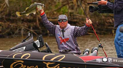 Brett Hite won the first Bassmaster Elite Series event in which he competed Sunday, putting him name alongside Derek Remitz as the only Elite rookies who won in their debut events.