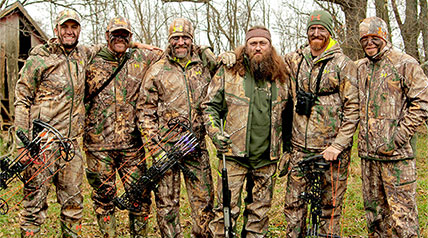 The Buckmen – a.k.a. Willie Robertson, Luke Bryan, Jason Aldean, Adam LaRoche, Ryan Langerhans and Tombo Martin – are back on Outdoor Channel!