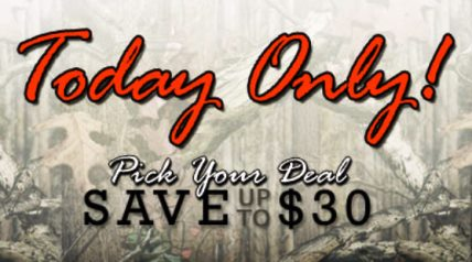 This year, Camo TuesdayTM features deep discounts on select footwear, ammunition, optics, clothing and more from big name brands like Danner, Hornady, Nikon and Kryptek just to name a few.