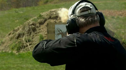 David Petzal shares with you the art of the close range shot on No B.S. accuracy with target practice, only at OutdoorChannel.com.