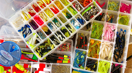 If you're like me, the lures in your tackle boxes exhibit a kaleidoscope of colors. Some of my boxes contain only one lure type—spoons, for example, or jigs.