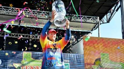 The Toyota Texas Bass Classic was decided by a record-breaking performance from two-time winner and defending TTBC Champion Keith Combs of Huntington, Texas.