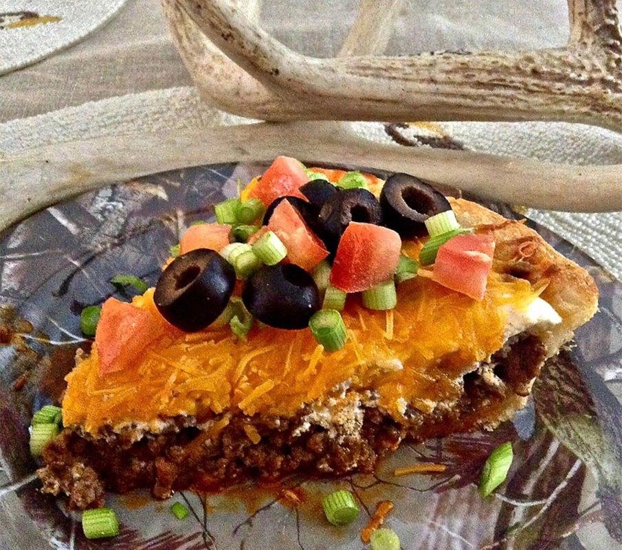 Venison Taco Pie Recipe