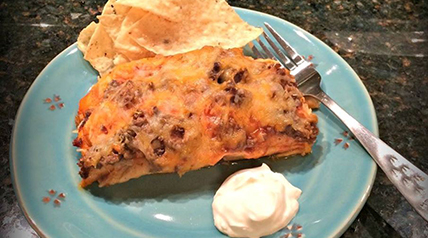 This recipe for venison enchiladas is one of Lee Lakosky's favorite dinners.