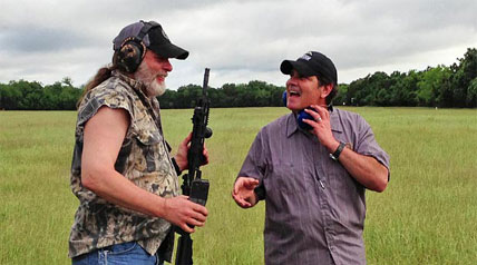 Dave Watson doesn't mind telling Ted Nugent to keep it clean. The two have a long history together in music, but now Dave plans on giving Ted a makeover through his Outdoor Channel production of