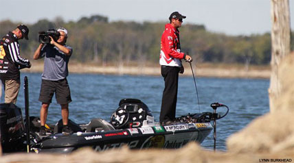 Jack Link's Major League Fishing is filming in North Texas this week on lakes around the city of Denton. The Shell Rotella Challenge Cup is Major League Fishing's fifth event.