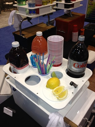 Reel Adrenaline Energy Drinks has released its newest product, the Docktail Bar, a multi-functional portable dry bar and beverage mixing station for boats at ICAST 2014.