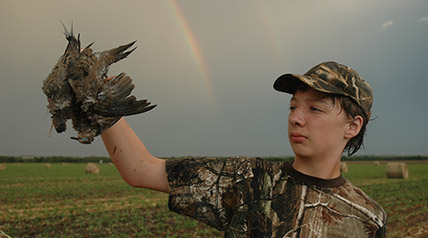 For hunters willing to put in some diligent scouting to find subtle hotspots, a feathered pot of dove hunting gold can still be found at the end of a wet weather rainbow. (Lynn Burkhead photo)