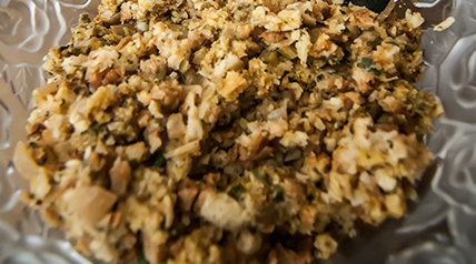 This dove stuffing recipe can be made as a main course or wonderful side dish.
