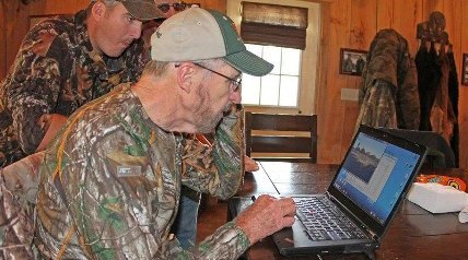 Dr. James Kroll is not camera shy. As the foremost authority on deer management in the world, those two things go together in more ways than one.