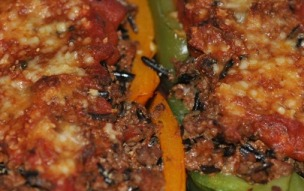 Bell Peppers Stuffed with Venison (Recipe)