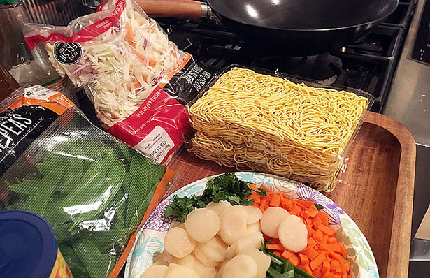Duck Breast Chow Mein Recipe