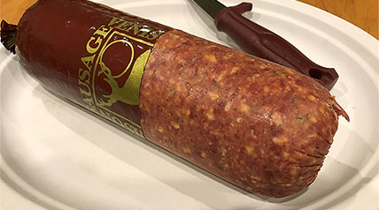 Making summer sausage is a perfect way to enjoy some tasty venison.
