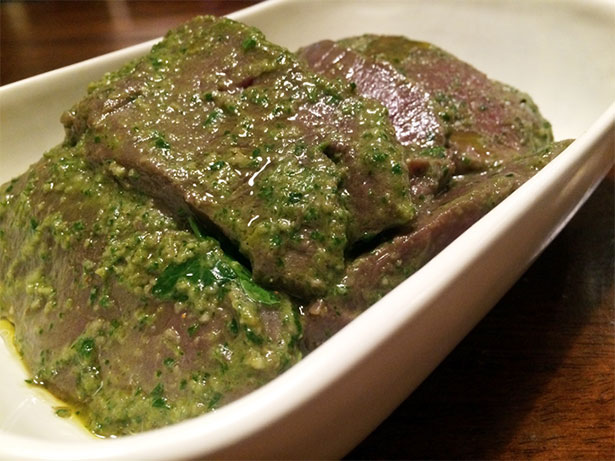 Chimichurri Grilled Elk Venison Steak Recipe
