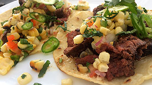 Elk Venison Tacos with Grilled Corn Salsa Recipe