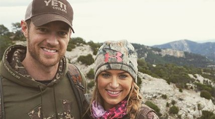 Eva Shockey the 27-year old, who will never apologize for being a hunter, is set to tie the knot this summer to professional hockey player Tim Brent.