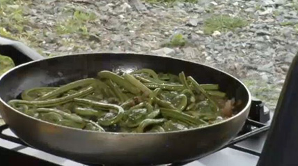 This Fiddlehead Ferns Recipe is best served as a side dish with speckled trout.