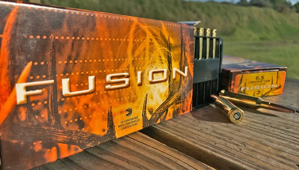 fusion 6.5 creedmoor soft point ammunition