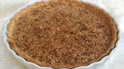 Make this homemade black walnut pie for an easy-to-prepare fall dessert.