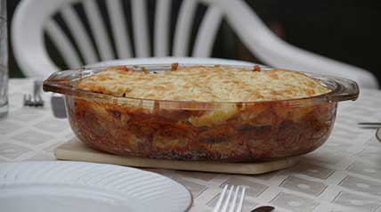 This delicious mixture of venison and cheese creates a tender and tasty casserole dish.