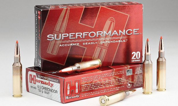 hornady 6.5 creedmoor gmx superformance