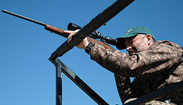 The fall hunting seasons are underway, and now is a great time for hunters to scout favorite hunting areas and to sight in their firearms to ensure they are on target when they go afield.