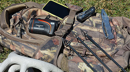 From mobile phones to broadheads, Outdoor Channel celebrities reveal their own must-have items when heading to the deer woods.