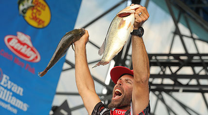 His winning total was 47 pounds, 14 ounces — a respectable weight for any midsummer tournament, and, as Iaconelli pointed out, proof that the Delaware River is a fishery worth any bass angler's time.