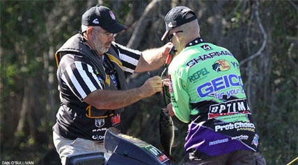 The third and final Elimination Round of the Jack Link's Major League Fishing 2013 GEICO Challenge Cup followed the pattern set by the first two days of elimination competition.