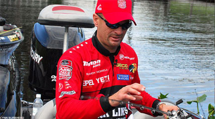 Bass pro Randy Howell of Alabama is one of the most likable anglers out there, and has earned a sterling reputation as one of the sport's most dependable and honest professionals.