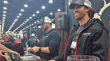 Whether an Outdoor Channel television show host is an industry rookie or a longtime veteran, attending the annual Archery Trade Association tradeshow is a can't-miss experience each year.