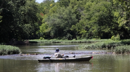 This article is the thirtieth in the periodic Blue Water Trails series highlighting the floating, fishing and tourism opportunities on Kentucky's streams and rivers.